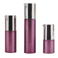 Dual products airless bottles