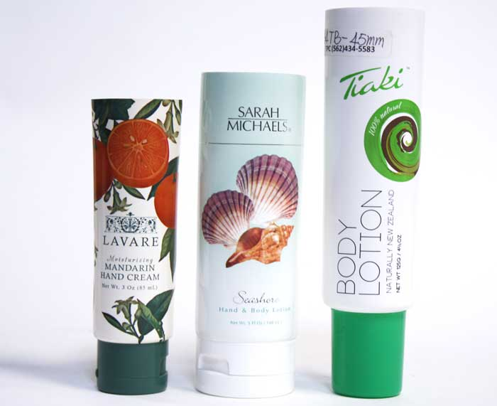 offset printing on cosmetic  bottles and tubes