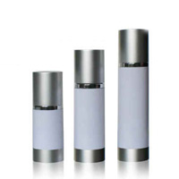 Elegant Aluminum Shiny airles bottles for skincare products