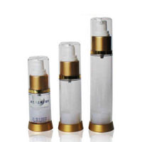 Clear Window Airless Bottle 15ml 30ml 50ml